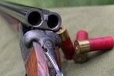 mainwaring 12 gauge box lock sxs shotgun. - 12 of 12
