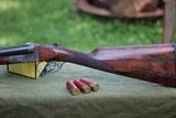 mainwaring 12 gauge box lock sxs shotgun. - 5 of 12
