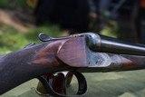 mainwaring 12 gauge box lock sxs shotgun. - 10 of 12