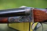 mainwaring 12 gauge box lock sxs shotgun.