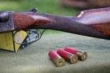 mainwaring 12 gauge box lock sxs shotgun. - 4 of 12