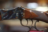 """LIEGEOISED&ARMES MARTINI 450/400 2 3/8"""" NITRO EXPRESSCAL.SINGLE SHOT,FULL LENGHT POST WAR HUNTING RIFLE - 9 of 11"""