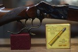 """LIEGEOISED&ARMES MARTINI 450/400 2 3/8"""" NITRO EXPRESSCAL.SINGLE SHOT,FULL LENGHT POST WAR HUNTING RIFLE - 4 of 11"""