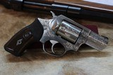 Factory Engraved Ruger SP101 Stainless - 4 of 8