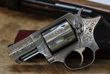 Factory Engraved Ruger SP101 Stainless - 6 of 8