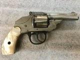 Iver Johnson Topbreak Hammerless Revolver .38 short colt - 1 of 3