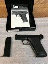H & K P7. Semi Automatic Pistol 9mm