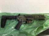 CMMG Banshee 9mm. OD Green Cerakote.Pistol with Brace. NIB