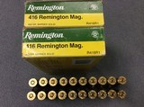 .416 Remington Mag. Factory ammunition