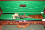 Cased 20 GA Grulla Armas Royal Grade Sidelock Ejector Shotgun Two Barrel Set - 2 of 12