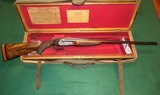 Daniel Fraser & Co. Ltd. .303 Nitro Express Boxlock Ejector Double Rifle With Case