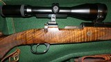 Holland & Holland Deluxe Engraved .270 Winchester Mauser Bolt Action Rifle W/ Schmidt & Bender Scope & Hard-Case H&H - 5 of 15