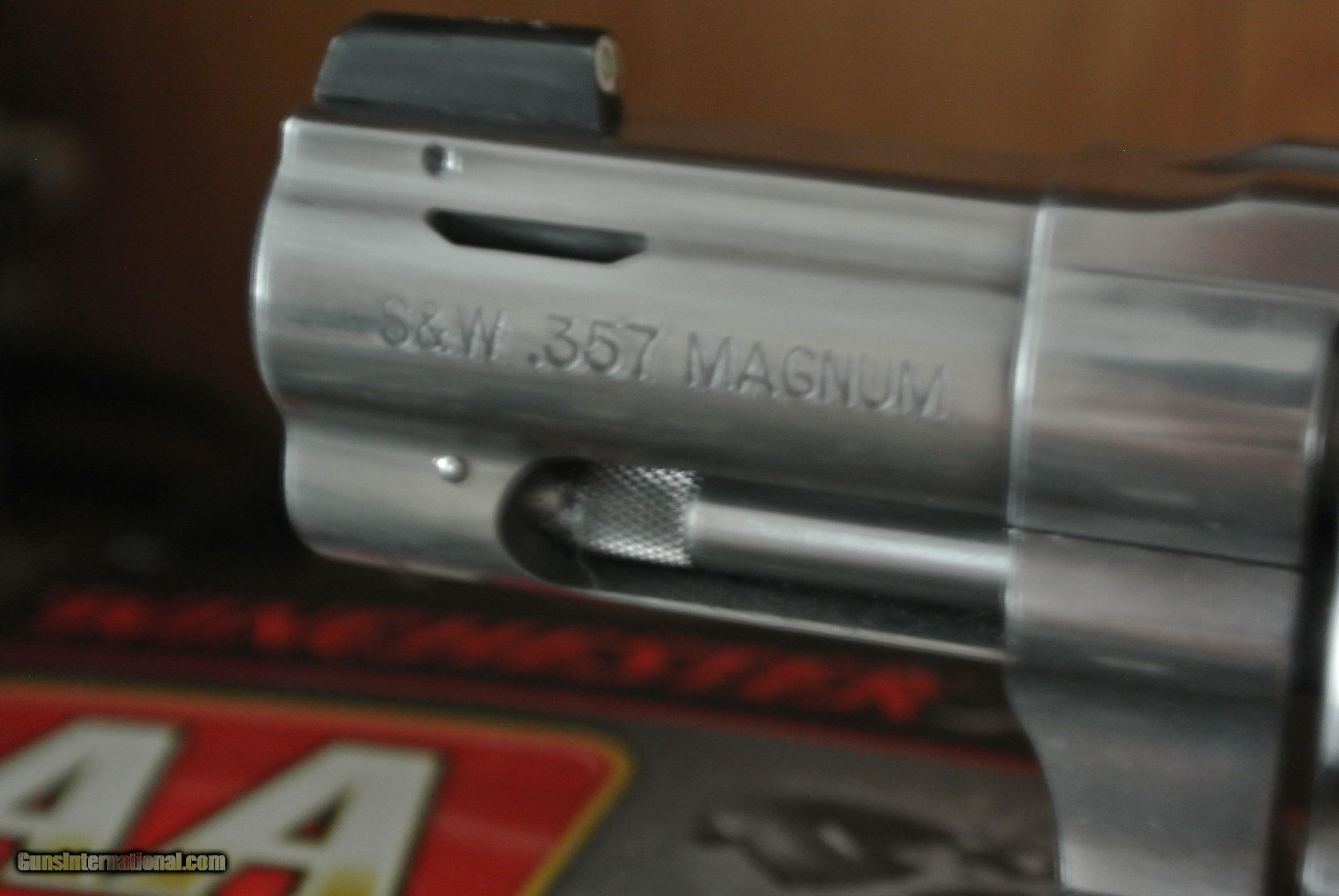 Smith & Wesson Model 640 J frame 357 Magnum