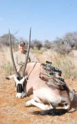 Kalahari Archery Package: 7 days all inclusive