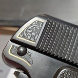 Colt 1908 Vest Pocket Pistol Engraved with Gold Inlay Made in 1919 - 2 of 15