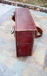 Vintage Leather Shotgun Cartridge Case - Alex Kerr Sports Shop Beverly Hills - 5 of 7