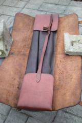 H.H. Heiser Leather Satchel Style Gun Case -- 12 of 15