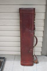 Red Head Leather Elliott Style Gun Case