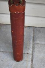 Red Head Leather Shotgun Gun Case - 4 of 7