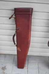 Red Head Leather Shotgun Gun Case - 5 of 7