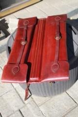 Holland Sport Leather 2 gun Breakdown Satchel Case - NICE!