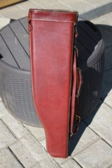 Holland Sport Leather LOM style Shotgun case. NICE!