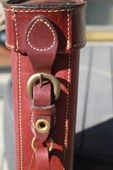 Holland Sport Leather LOM style Shotgun case. NICE!