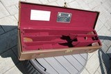James Purdey Leather 3 Gun Shotgun Gun Case - Purdey Leather Motor Case