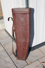 Red Head Leather Two Barrel Shotgun Case