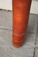 Leather Full Length Two Gun English Style Shotgun Case - 5 of 20