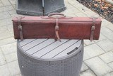 A. H. Hardy Leather Satchel 2 Gun Case - RARE! - AH Hardy Beverly Hills CA.