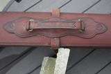 A. H. Hardy Leather Satchel 2 Gun Case - RARE! - AH Hardy Beverly Hills CA. - 9 of 16