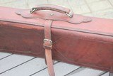 A. H. Hardy Leather Satchel 2 Gun Case - RARE! - AH Hardy Beverly Hills CA. - 3 of 16