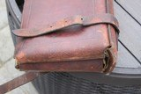 A. H. Hardy Leather Satchel 2 Gun Case - RARE! - AH Hardy Beverly Hills CA. - 15 of 16