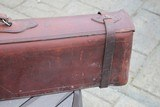 A. H. Hardy Leather Satchel 2 Gun Case - RARE! - AH Hardy Beverly Hills CA. - 6 of 16