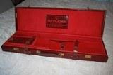 Mannlicher Renato Gamba Leather Shotgun Case - Made in Italy - 1 of 10