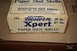 Western Xpert 20ga 100 count Two Piece Shotgun Shell Box - SEALED! - 2 of 8