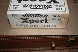 Western Xpert 20ga 100 count Two Piece Shotgun Shell Box - SEALED - 4 of 8