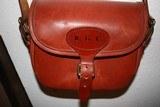 Holland & Holland Leather Shotgun Shell Cartridge Bag