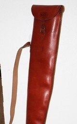 Vintage Leather Full Length Shotgun Gun Case