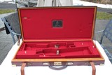Famars Abbiatico & Salvinelli Nizzoli Two Gun Oak and Leather Case - NICE!