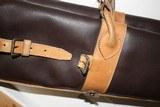 Leather Full Length Two Gun English Style Shotgun Cases - 8 of 18