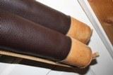 Leather Full Length Two Gun English Style Shotgun Cases - 6 of 18
