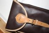 Leather Full Length Two Gun English Style Shotgun Cases - 9 of 18