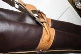 Leather Full Length Two Gun English Style Shotgun Cases - 7 of 18