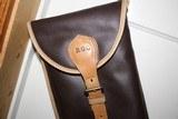 Leather Full Length Two Gun English Style Shotgun Cases - 3 of 18