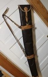 Leather Full Length Two Gun English Style Shotgun Cases - 10 of 18