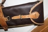 Leather Full Length Two Gun English Style Shotgun Cases - 11 of 18
