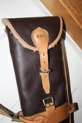 Leather Full Length Two Gun English Style Shotgun Cases - 12 of 18