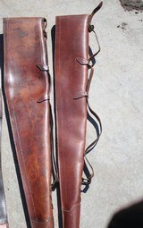 Leather Gun Cases Redhead And George Lawrence - 8 of 11